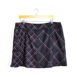 Adidas Climacool golf skirt tennis skort geometric